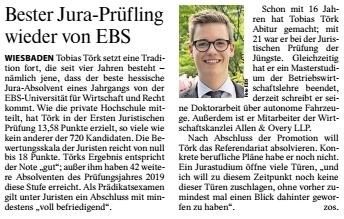 F.A.Z. v. 29.12.2020 (Nr. 302), S. 32 (Hochschule)